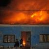 [FOTOS] Incendio afectó a dos casas particulares en Pica