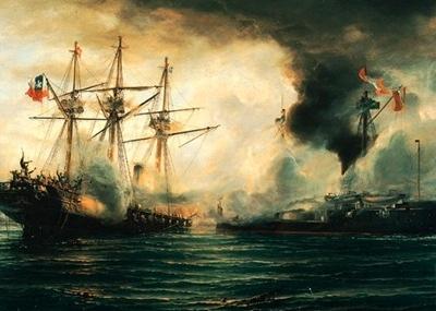 Historia del combate naval de iquique el boyaldia for Todo sobre barcos