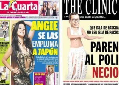 """María Virginia Quevedo: """"La Cuarta y The Clinic han lucrado con el ..."""