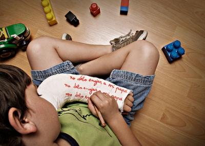 ley violencia infantil: